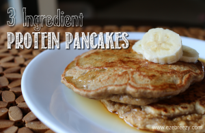 3 ingredient pancake