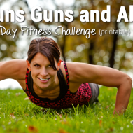 30 Day Fitness Challenge *PRINTABLE*