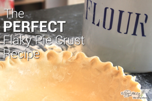 Perfecft Flaky Pie Crust Recipe