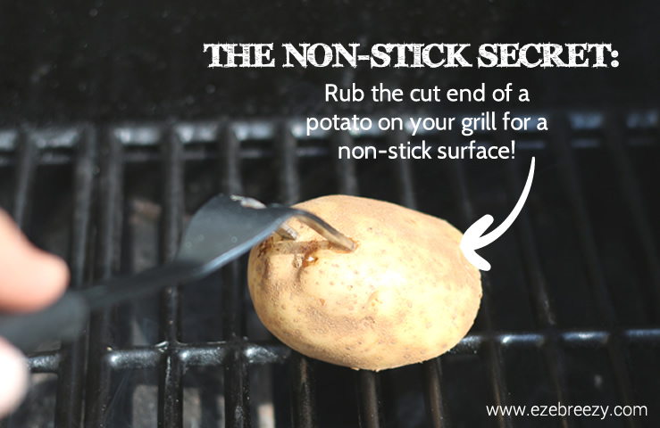 grilling tips potato