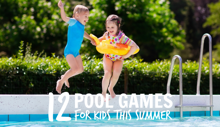 12 Fantastic & Fun Pool Games for Kids