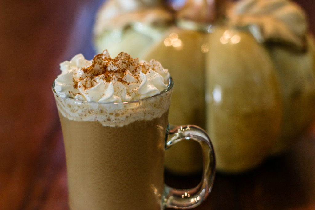 Easy Pumpkin Spice Latte 2