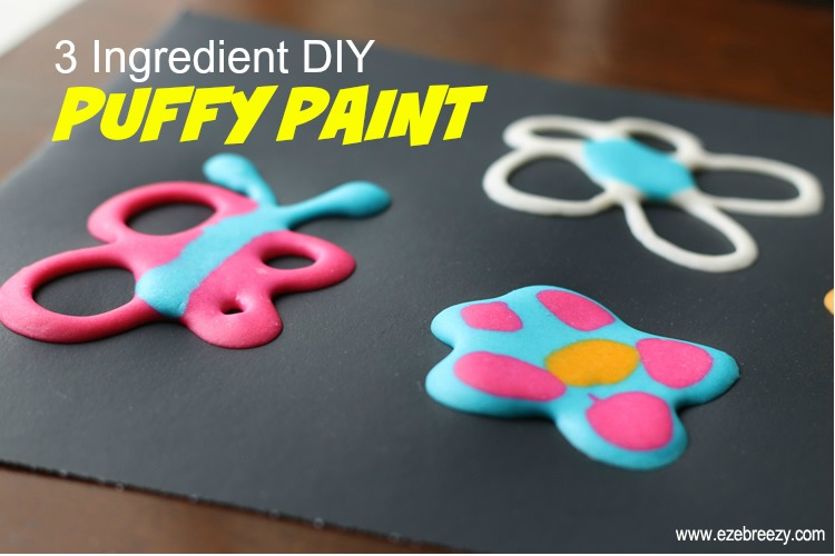 This DIY Puffy Paint is the BEST!