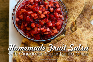 Homemade Fruite Salsa
