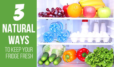 3 Natural Ways To Keep Your Fridge Fresh 3