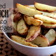Baked Ranch Potato Wedges