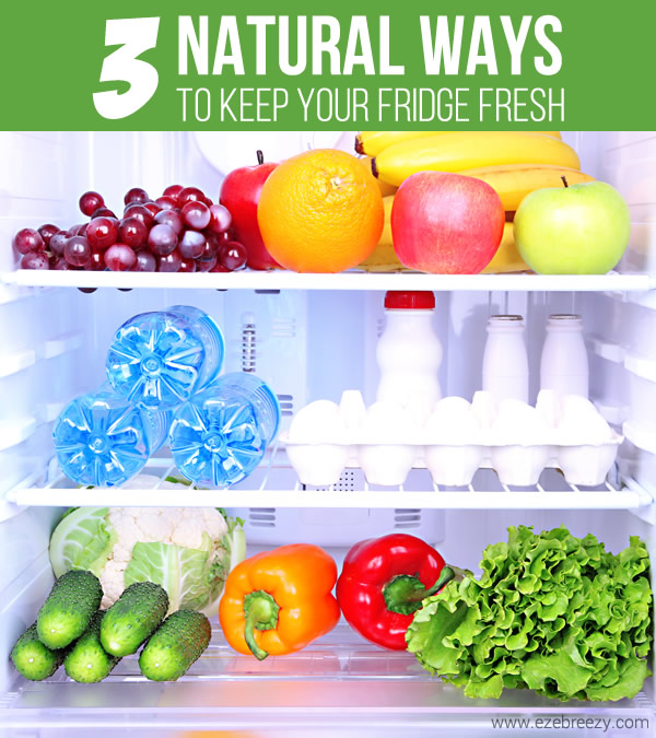3 Natural Ways To Keep Your Fridge Fresh