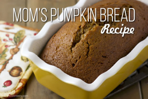 pumpkin bread recipe 1