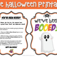 FREE You've Been BOOed PRINTABLE