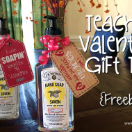 Teacher Valentine Gift Tag {Freebie}