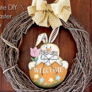 5-Minute DIY Easter Wreath