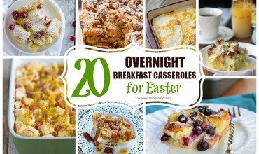 breakfast casserole collage slider