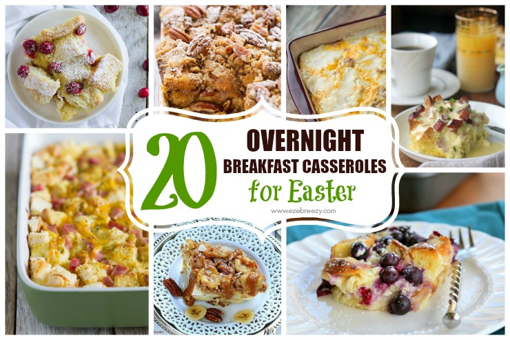 overnight breakfast casserole recipes slider