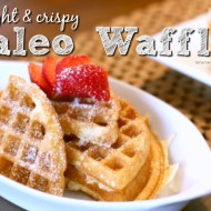 Light and Crispy Paleo Waffle Recipe