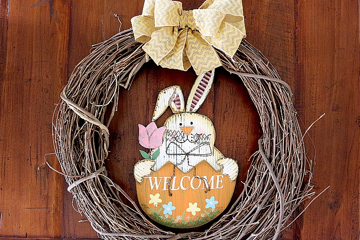 DIY Easter Wreath idea