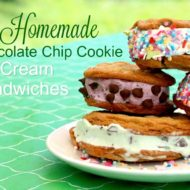 Cookie Ice Cream Sandwich Recipe