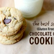 The Best Soft Chocolate Chip Cookie Recipe [Gluten Free]