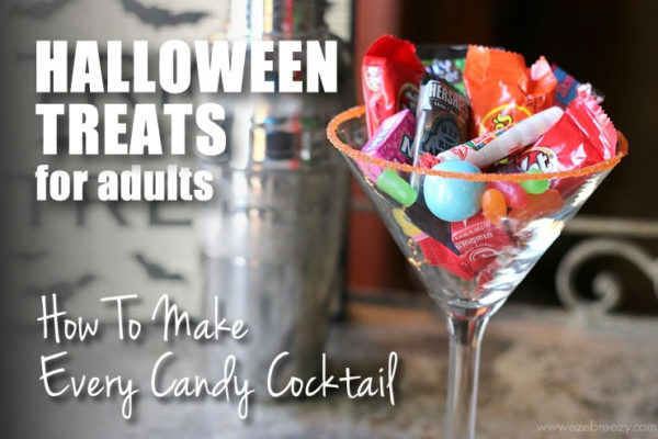Halloween Treats For Adults: Every Type of Candy Cocktail