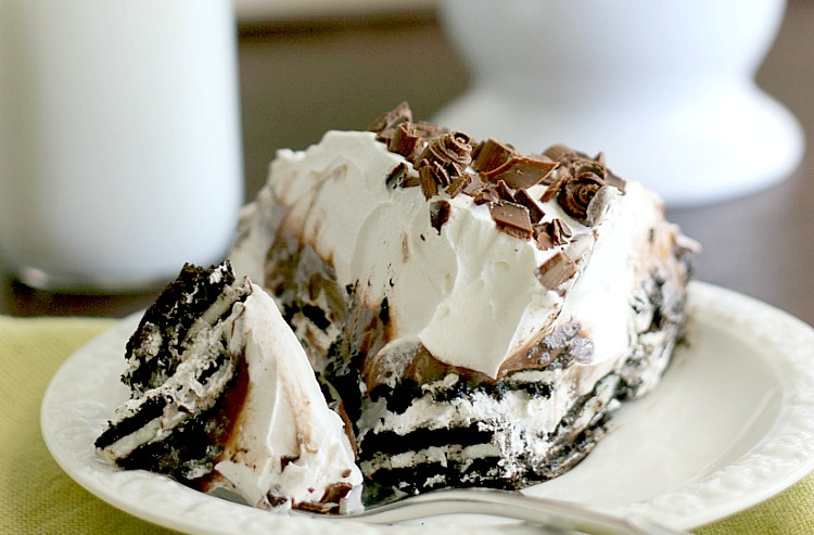 Oreo Icebox Pie Dessert Recipe