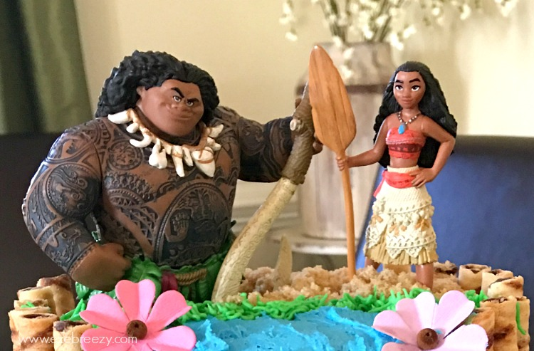 No Matter Your Cake Making Skill Level Definitely Give This Moana A Try You Can Bake The From Scratch Or Use Box Mix Either Will Work