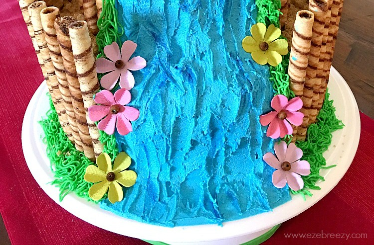 icing blue color