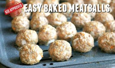 Quick, easy and delicious, this Baked Meatballs recipe is the BEST and definitely kid-approved! Juicy, tender and packed with flavor, these Bake Meatball are simple to make and soon to be a family favorite.