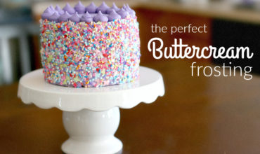 Perfect Buttercream Frosting is creamy, fluffy, and perfect for piping/decorating your cakes and cupcakes. | www.ezeBreezy.com