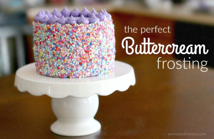 The Perfect Buttercream Frosting